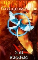 Mockingjay Movie Poster-ish by 4thElementGraphics
