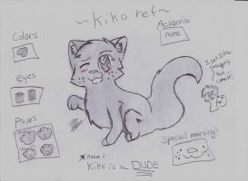 Kiko refrence by fierstar123