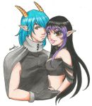 AT: Nellicko and Nakiri by Jyinxe