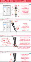 How To Fix Weird Heeled Models by KamaNoTenshi