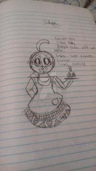 Human Chica by EmeraldGal66