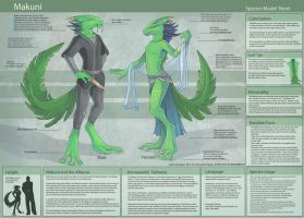 Makuni - Species Sheet by Ulario