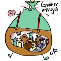 Gobbler King by AluraRB