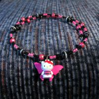 Hello Kitty Fairy Necklace by SugarAndSpiceDIY