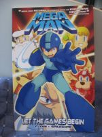 Megaman comic book by Twilightberry