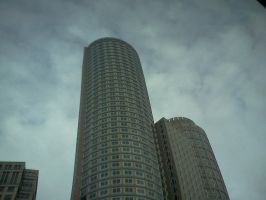 Boston Trip -Building and Sky by Spooneh21