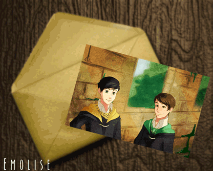 GIF: Letters For a Friend by Emolise