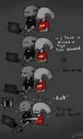 AT: Playing Slender by Ultraviolet140