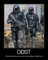 ODST: Still not Space Marines by DJ-Anarchy