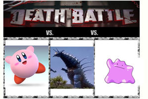 Death Battle 13: Kirby vs Gelworm vs Ditto by Kiryu2012