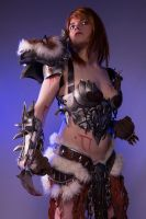 Female barbarian Diablo by envoysoldiercosplay