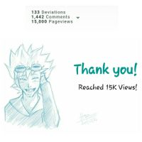 Thank you! Reached 15k views! by trazor29