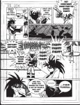 Short Comic-Raijin Break pg 4 by StamayoStudio
