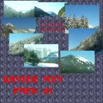Winter Mtns Pack 1 by Pyrosaint-Stox