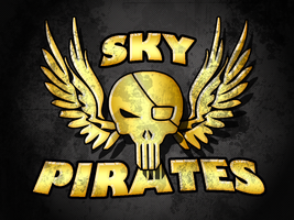 Sky Pirates Splash Page V 3.0 by CorkScrewed