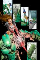 Witchblade - Manapul/Mayer by aeanchile