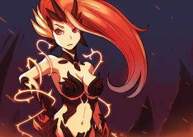 Wildfire Zyra by LataeDelan