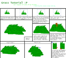 Grass Turtorial - MS Paint by CarnationRose