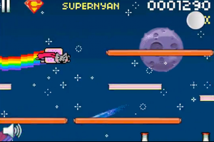 Super Nyan Cat! by RetardedAndProud