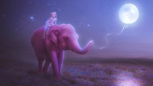 My Pink Elephant by MariLucia