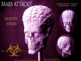 Mars Attacks by QuarantineStudio
