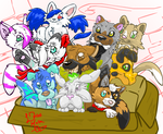EPIC OCs Puppie Box! (ExtremellyCute) by LucasMolla