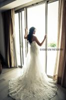 Mexico Wedding ~ the bride by ashleylawphotography