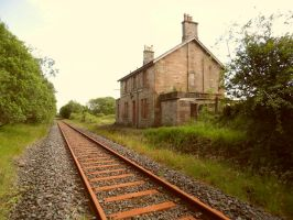 Abandoned Station? by Millie-Mops-Stock