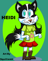 Gift Art - Heidi The Jewish Kitty by SkunkyNoid