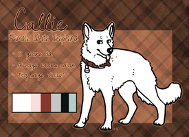 Commission - Callie ref by pandapoots