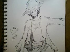 One Piece Luffy by SakuraHaruno178