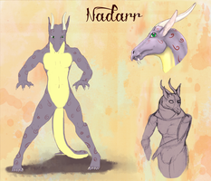 Nadarr- ref sheet by forgetSanity