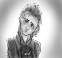 loki: first pictre with tablet by KonanBases