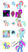 MLP - Old Pony Maker Char Adopts - OPEN! by cheesepuff2