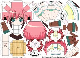 Ikaros Papercraft by ELJOEYDESIGNS