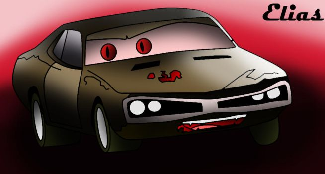 Wheels of Terror 1974 Dodge Charger by 94eliasdesing