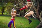 Cammy Fight! by maxwellWhavok