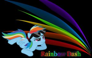 rainbow dash background by AuFur-Shadow