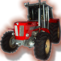 red tractor by rockscorp