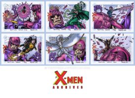 X-Men Archives L by tonyperna