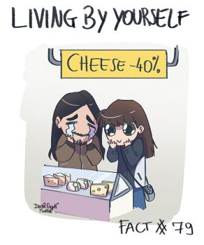 Living by yourself Fact #79 by IreneMartini