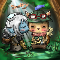 Yordle Love by awisha-teh-ninja
