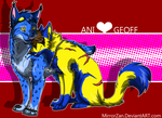 AniXGeoff Commission by MirrorZan