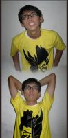 Yellow Pose by clux-box