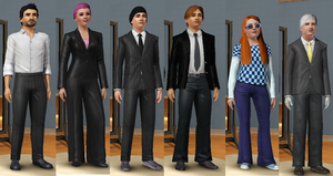 Ultra Agents Sims by TLFScarheart