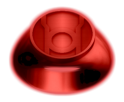Red Lantern Ring by KalEl7