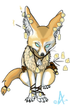 Fennec Fox called Vili by Akitainu96