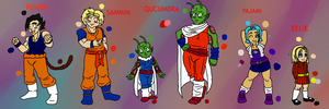 DBZ OC Reference Sheet (BIOS IN DESCRIPTION) by JodieDoe
