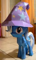 papercraft Trixie with hat by Znegil