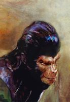 Galen Planet of the Apes by hill19652000